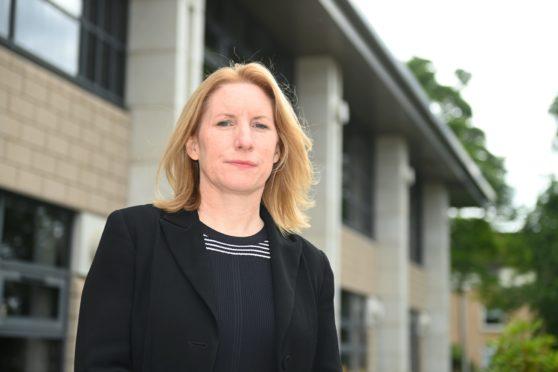 NHS Grampian chief executive Caroline Hiscox