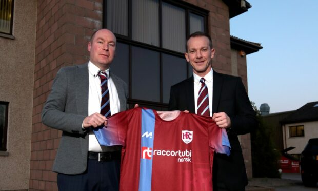 Former Keith co-managers Tommy Wilson and Andy Roddie.