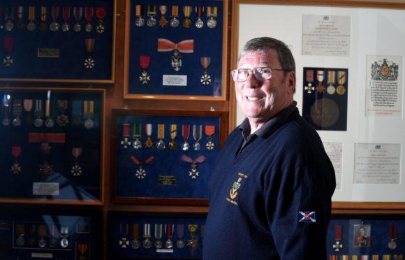 John Baily who joined the Queen's Own Highlanders in 1970