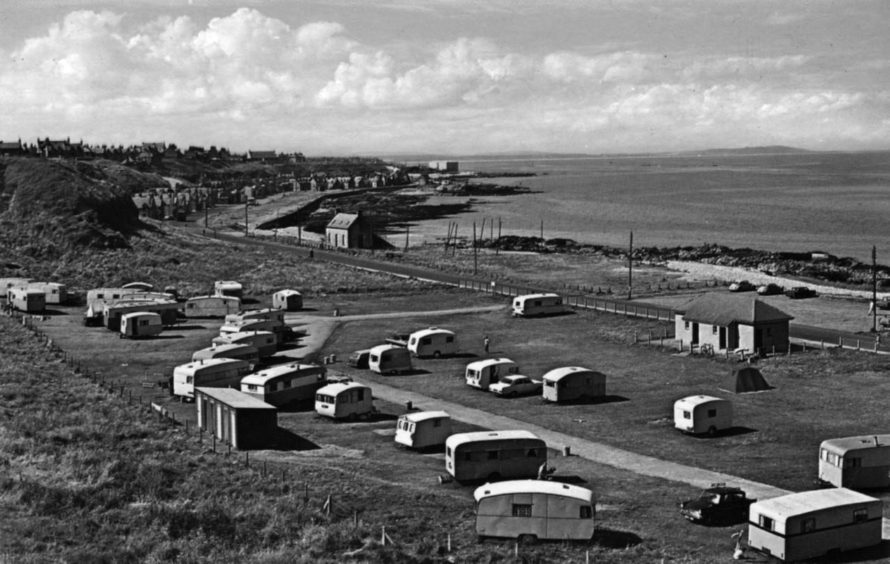 Buckie Town Council created a caravan park to try to attract tourists.