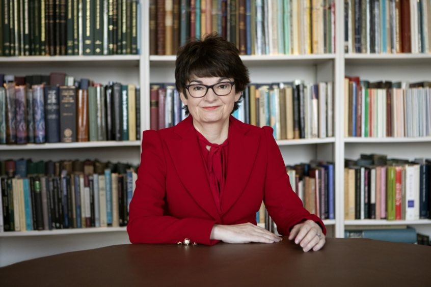 Professor Sally Mapstone, the principal and vice-chancellor of the University of St Andrews.