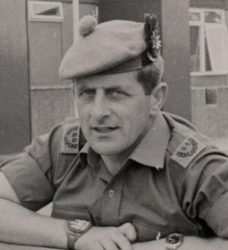 Robert 'Bob' Towns serving with the Queen's Own Highlanders in Northern Ireland.