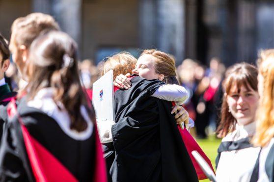 St Andrews University graduates in 2019