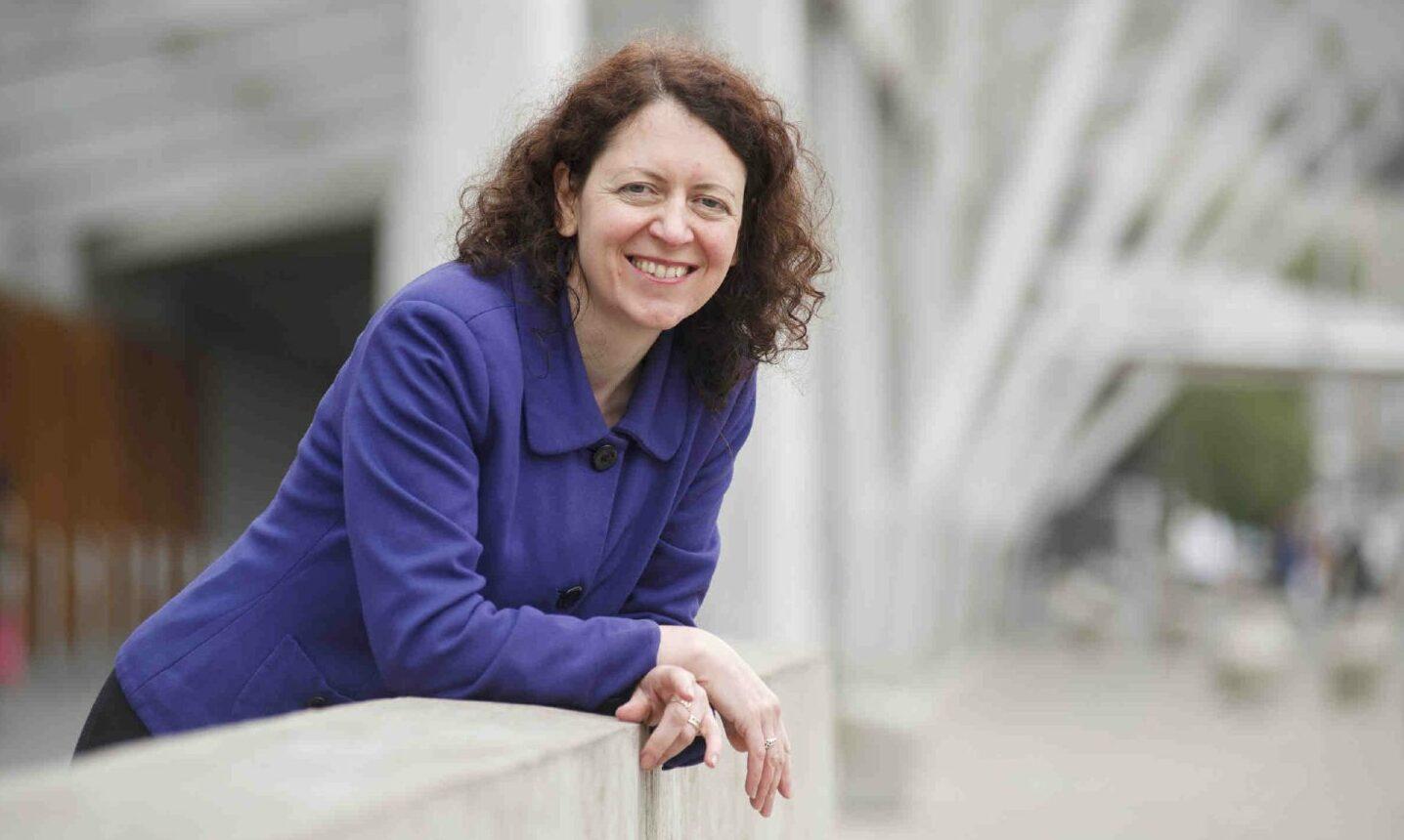 Sheila Duffy, chief executive of charity Ash Scotland.