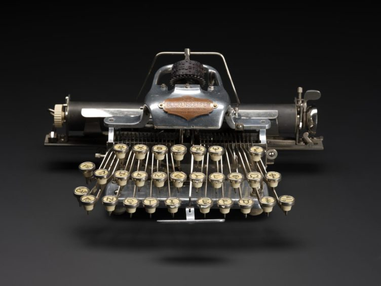 Many of the old typewriters had their own unique style.