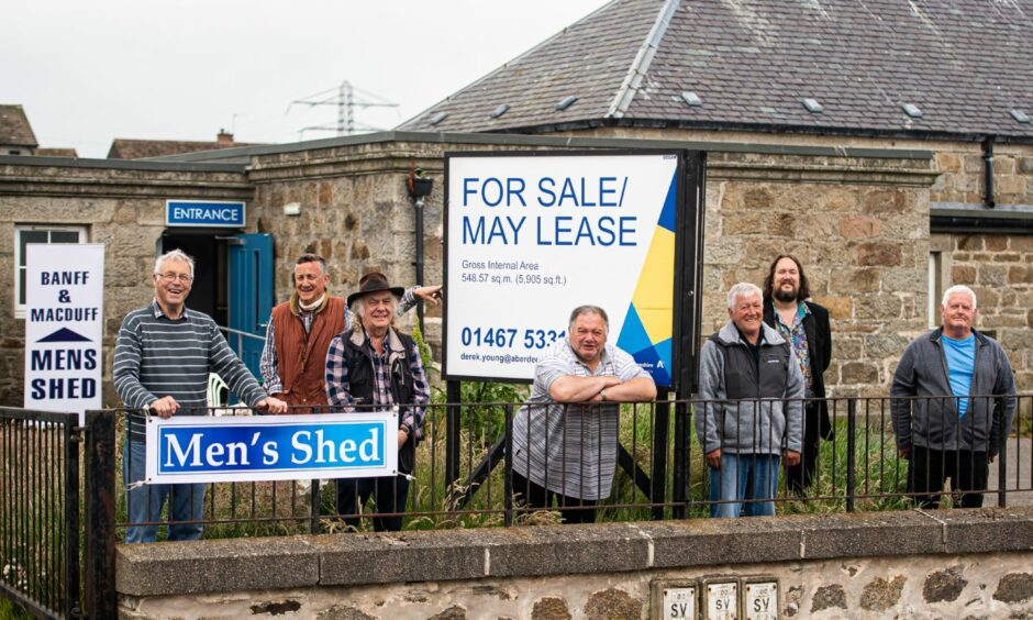 Men's Shed volunteers in from Banff and Macduff are looking to take over the running of the old Fife Street School, Macduff in a community asset transfer.