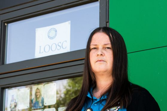 Lisa Moggach, manager at an Aberdeenshire playgroup.