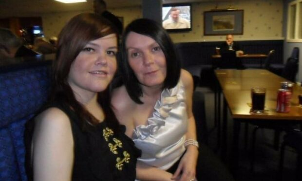 ashley with mum deborah