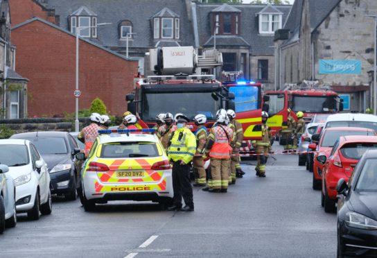 Dunfermline gas explosion shock