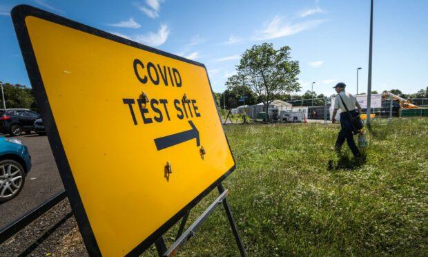 Covid test centre
