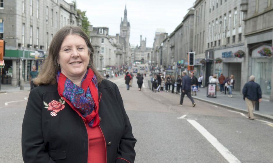 Council transport spokeswoman and George Street councillor, Sandra Macdonald.