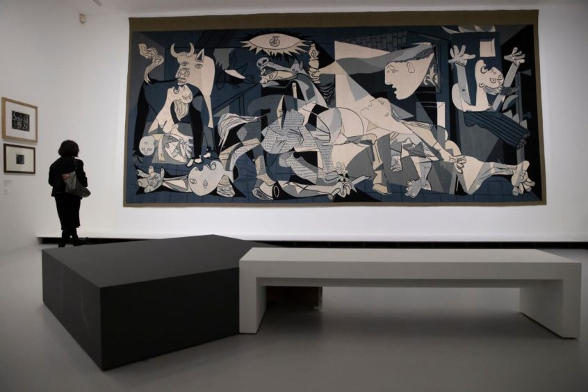 Guernica by Spanish artist Pablo Picasso.