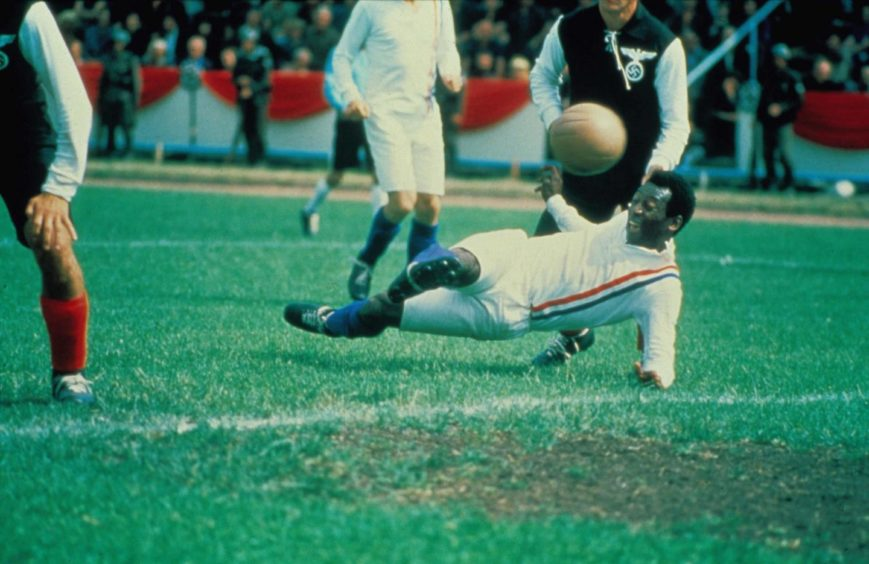 The Brazilian legend scored one of the most iconic goals of all-time in Escape to Victory.