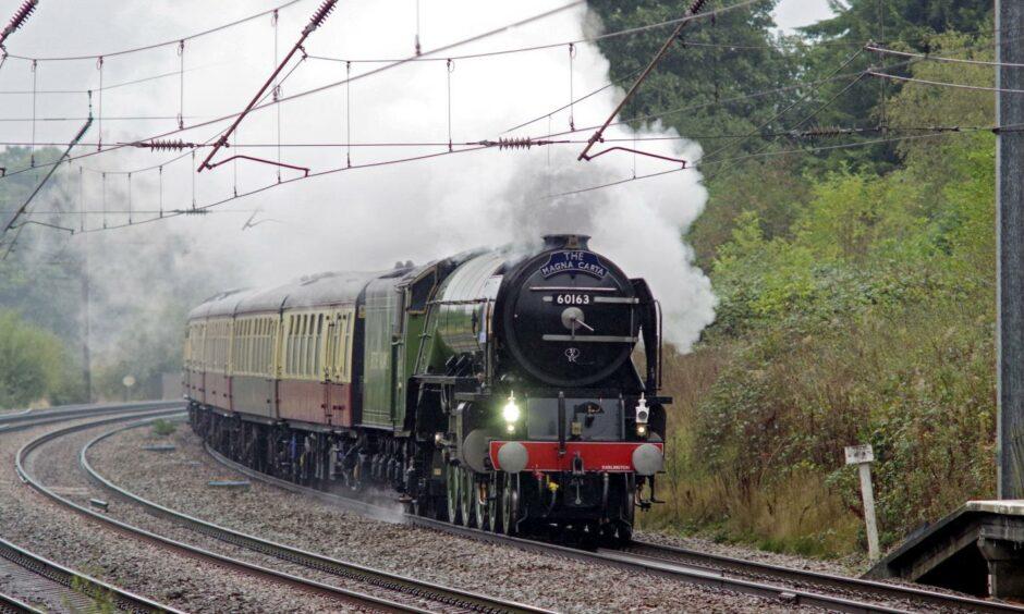 tornado locomotive steam engine