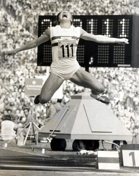 Mary Peters won gold in the women's pentathlon at the 1972 Olympics in Munich.