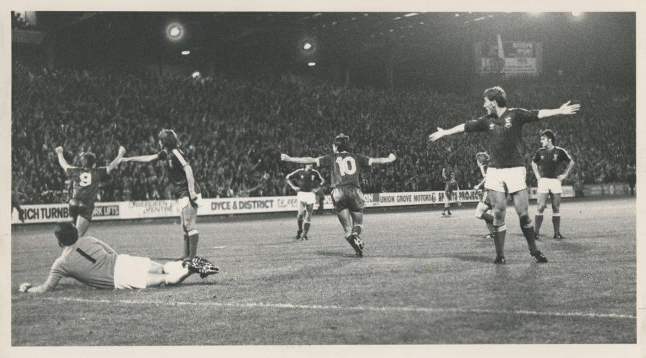 Aberdeen's Peter Weir was a thorn in Ipswich's flesh when the sides met in 1981.