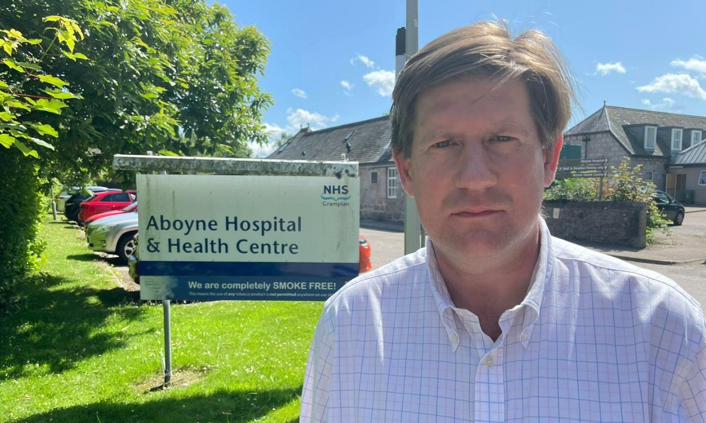 Alexander Burnett has signed a joint letter from Friends of Aboyne Hospital, asking for information about the upcoming strategic needs assessment amid fears it is threatened by closure.