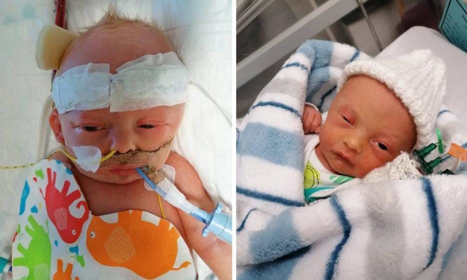 fife family raise charity in memory of baby eli