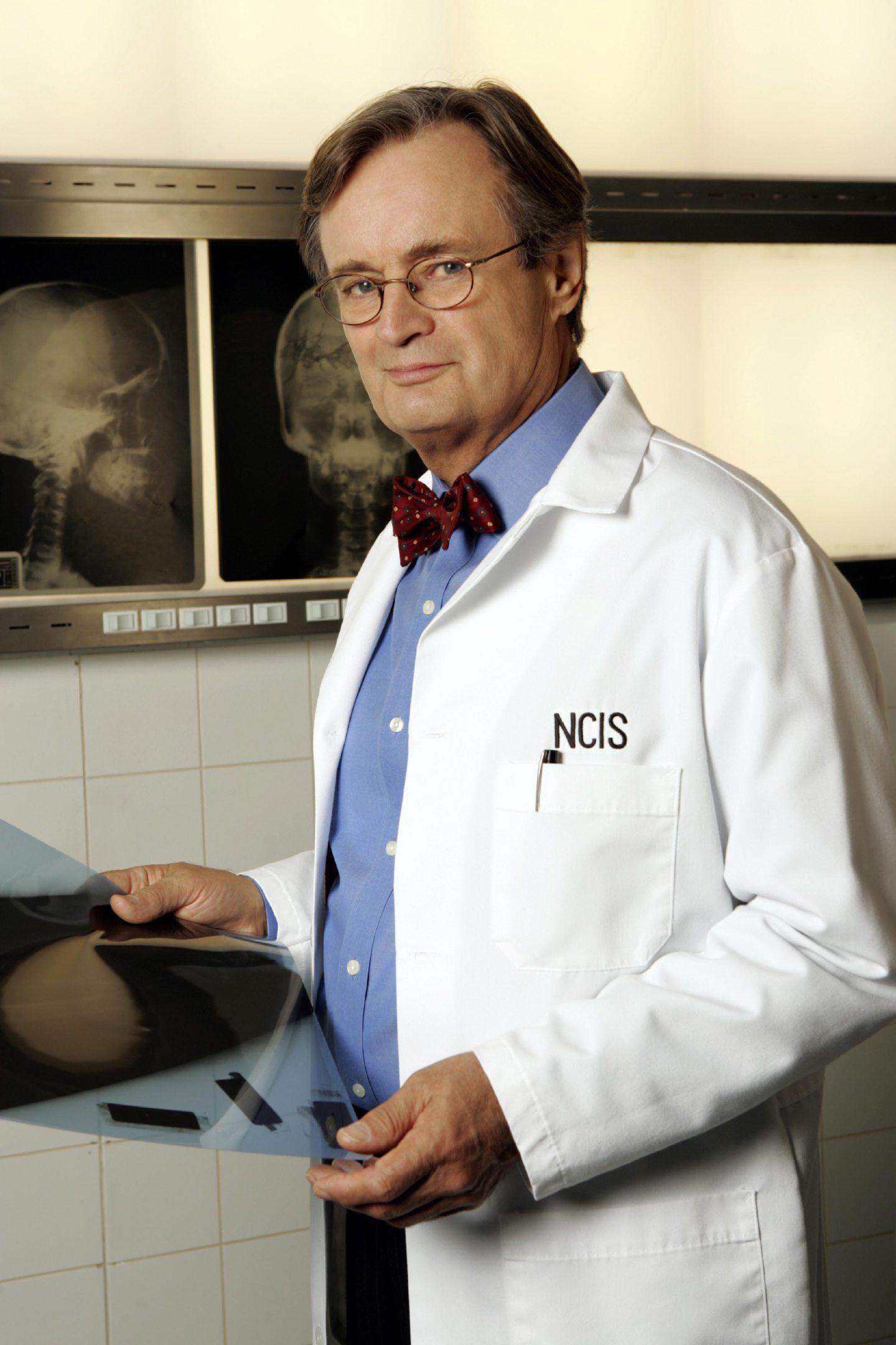 David McCallum as Dr Ducky Mallard in NCIS.
