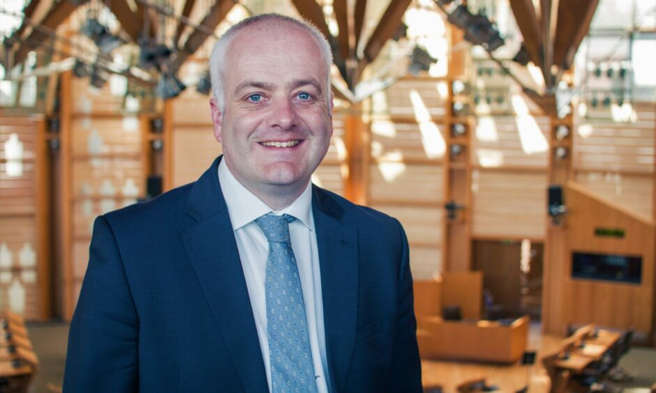 Mark Ruskell, Green MSP for Mid Scotland and Fife, at the Scottish Parliament.