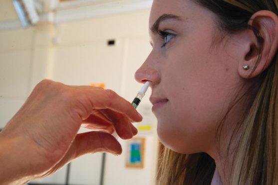 Fife parents flu vaccine
