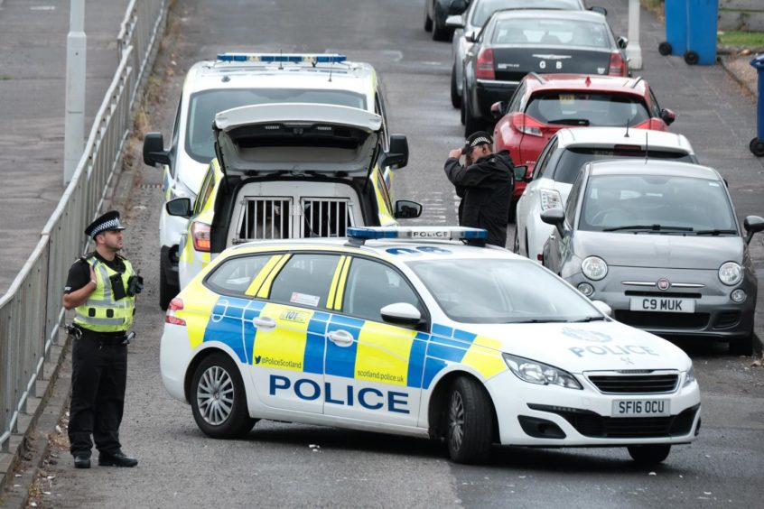 Copeland Crescent Fife charged