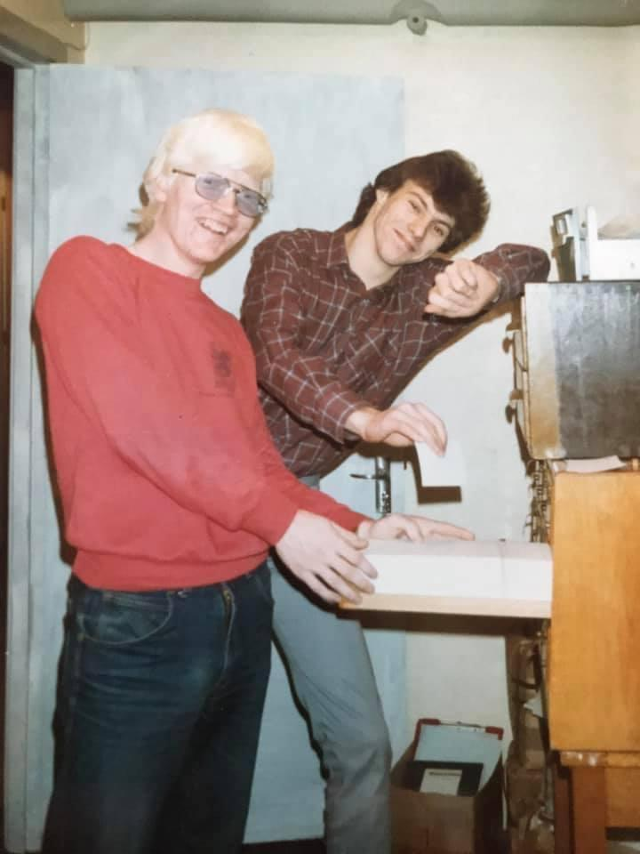 George Findlay and Gary Stein both worked at Grampian Hospital Radio.