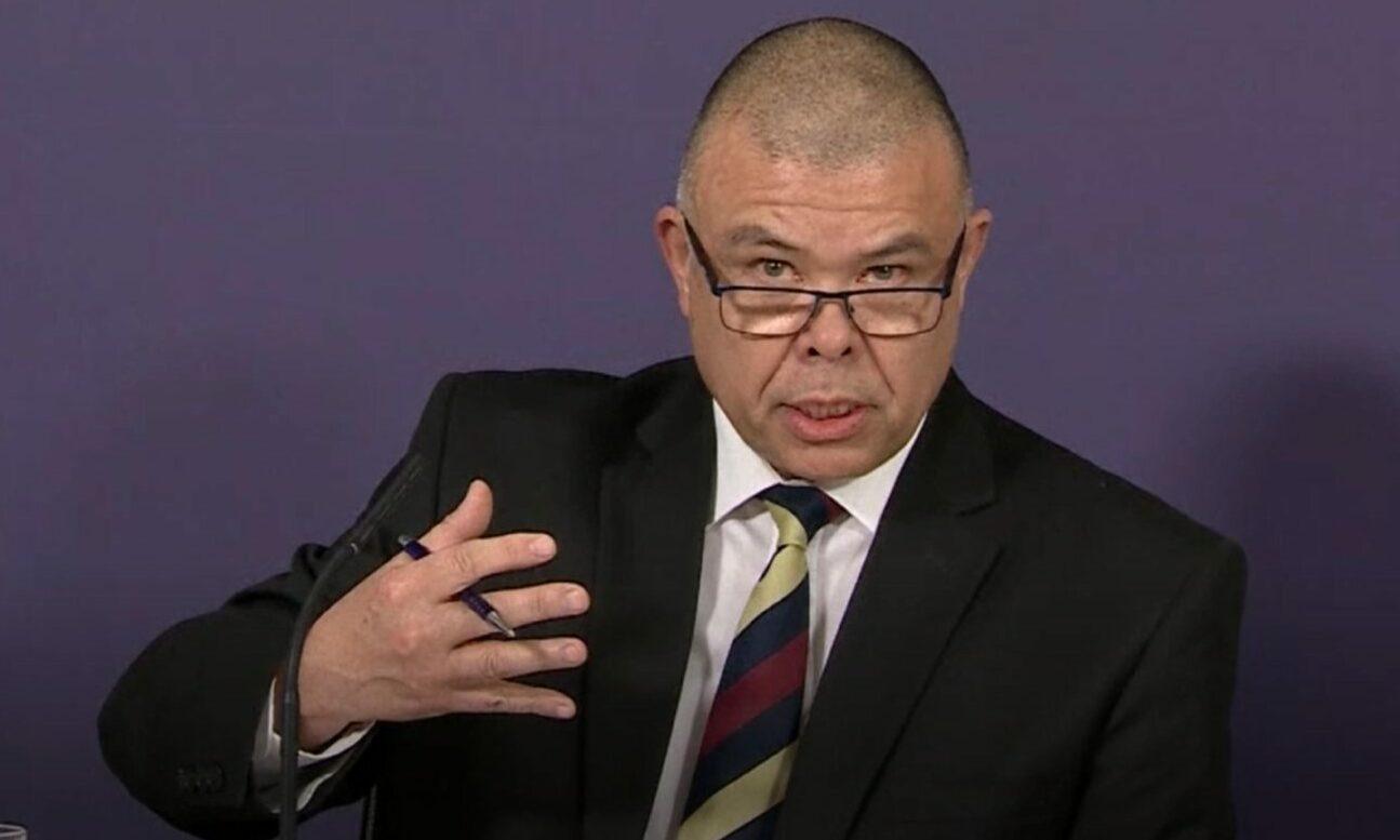 Deputy chief medical officer for England, Professor Jonathan Van-Tam.