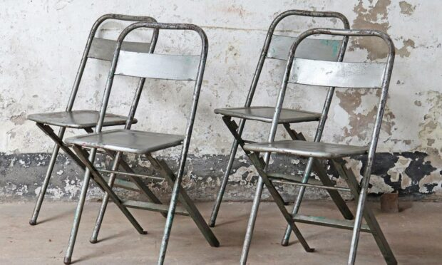 Chairs for the film Infinite supplied by Scaramanga.
