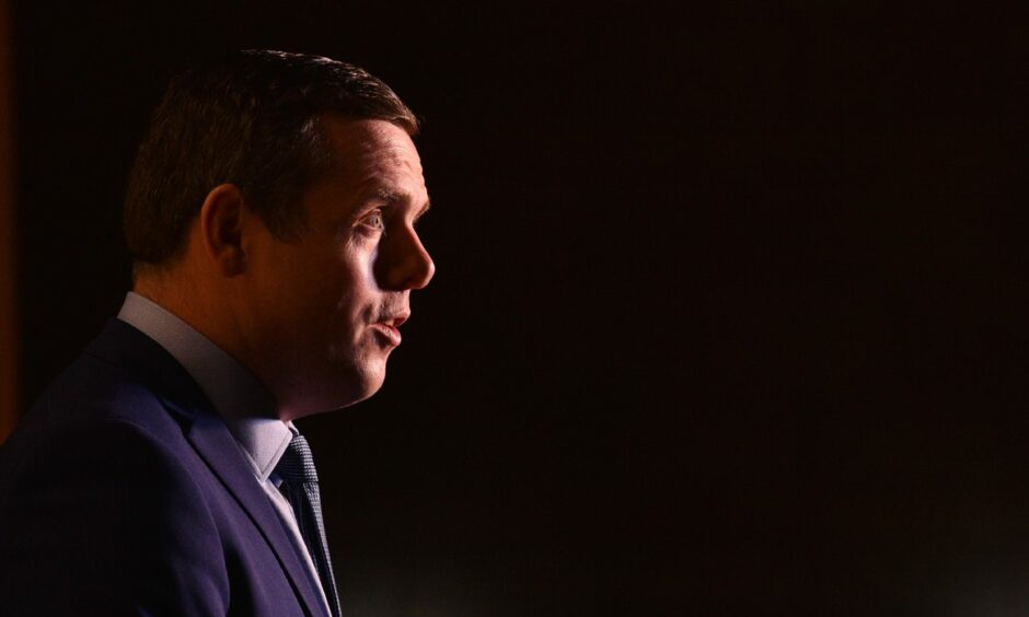 """Douglas Ross has defended the cut to Universal Credit stating the Scottish Government has """"got to start to pay back what has been spent during this crisis""""."""