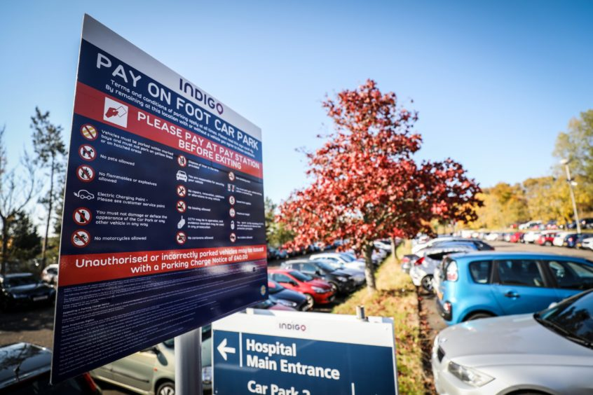 The Scottish Government has announced a permanent end to car park charges at Ninewells in Dundee
