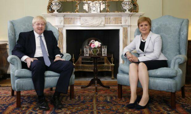 Boris Johnson is due to visit Scotland this week.