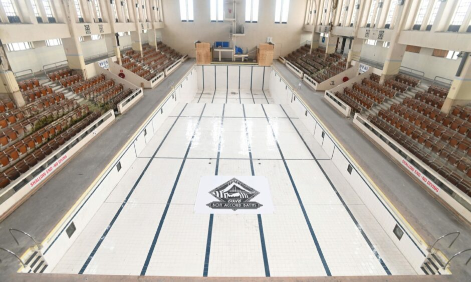 Councillors voted not to explore the possibility of contributing some of the £150m masterplan funding to efforts to restore Bon Accord Baths, Aberdeen.