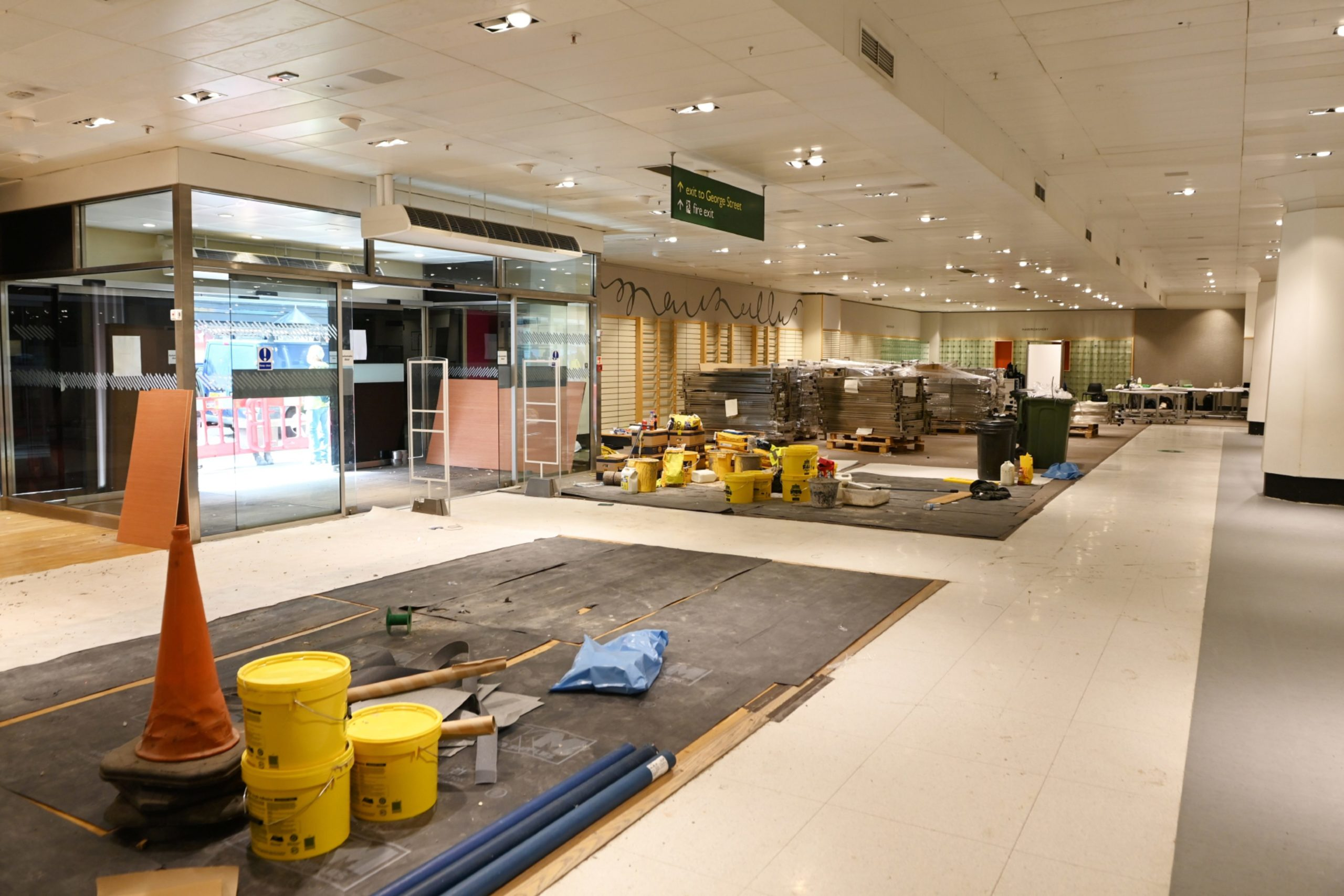 Work on the new centre will be completed by mid-September.