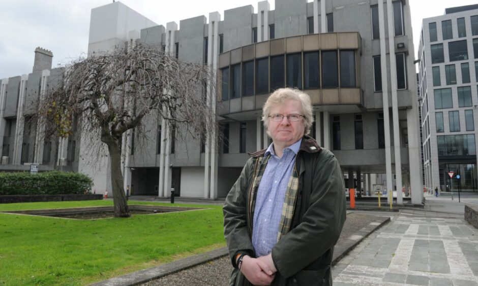 Councillor Ian Yuill is urging colleagues to 'keep the local authority's word' on the temporary Spaces For People road changes in Aberdeen.