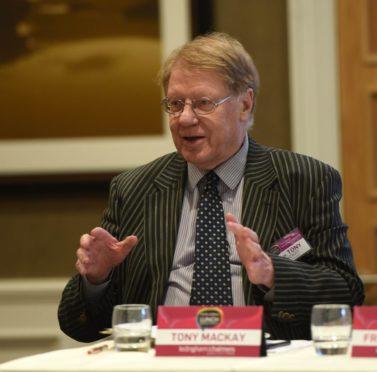 Scottish economist Tony Mackay