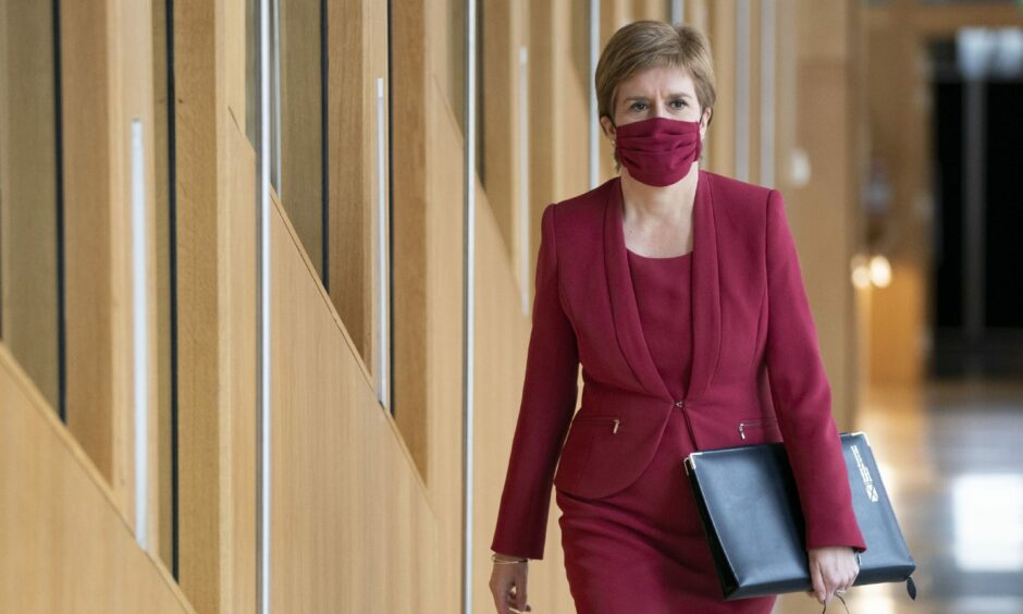 Nicola Sturgeon was mentioned in Imrie's online chats, the court was told