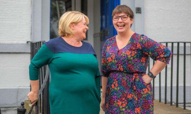 Karen Nichols and Sarah-Jane Dale of The Skills Collective.