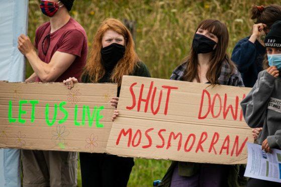 Mossmorran protest
