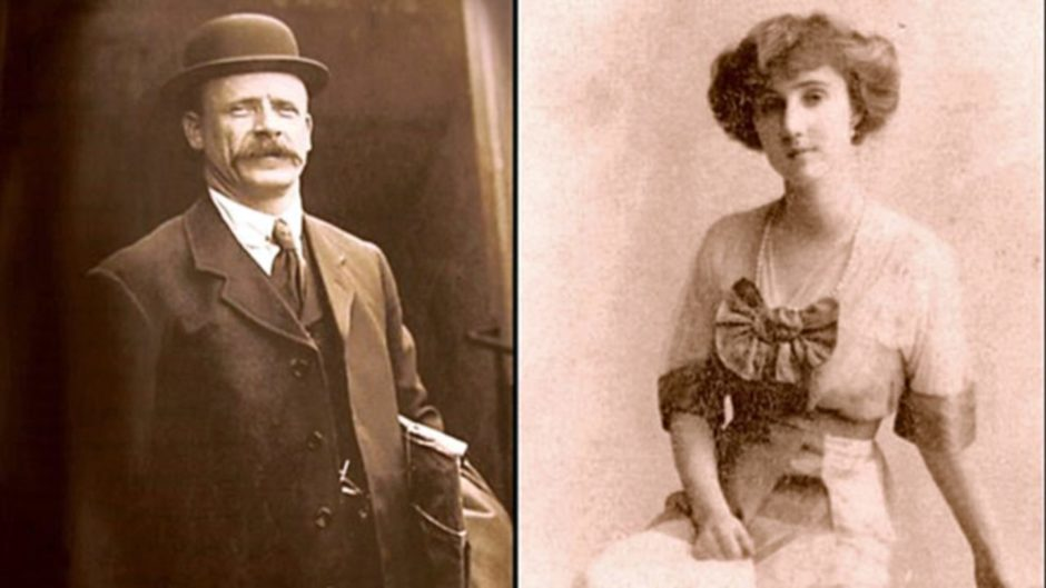 Thomas Jones and the Countess of Rothes, who met on the Titanic's lifeboat number eight.
