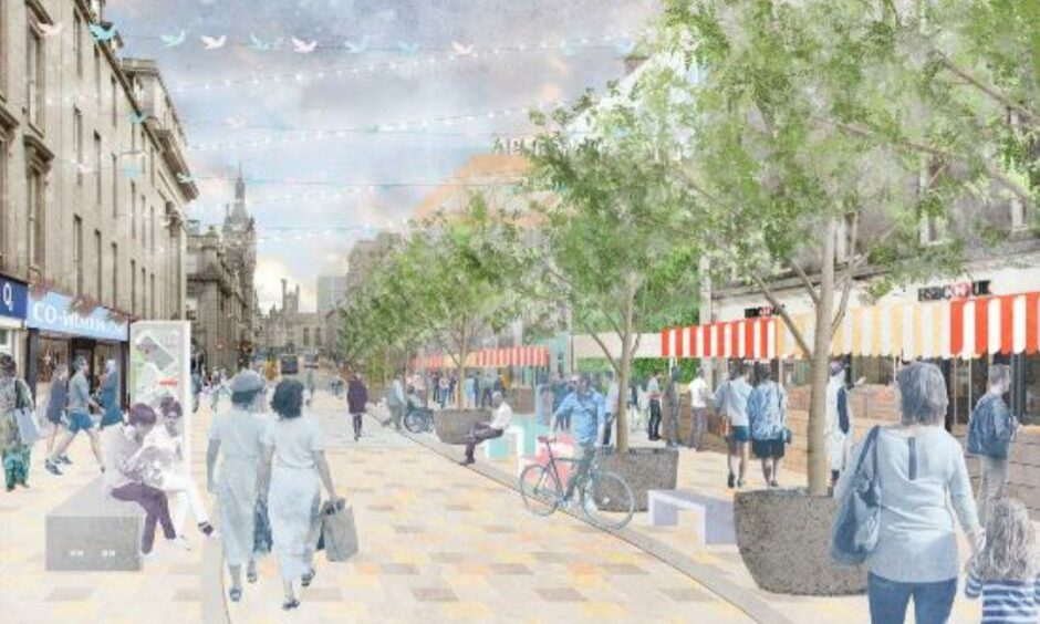 Market stalls could spill out of the planned new market, to be built on the former British Home Stores site, in the pedestrianised Union Street.
