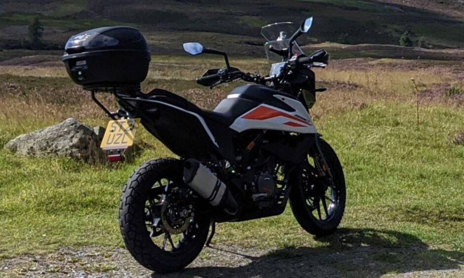 stolen motorbike perthshire
