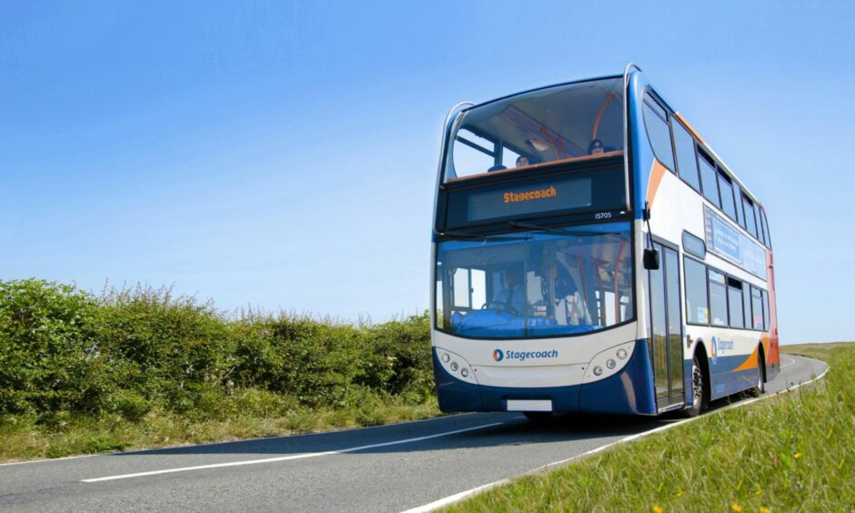 Stagecoach says passenger numbers are still only at 70% of pre-pandemic levels