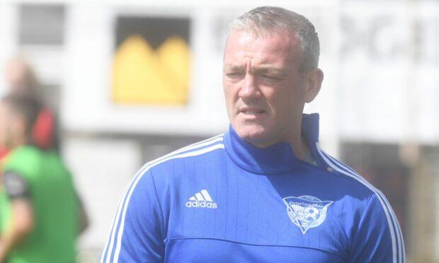 Peterhead assistant manager Davie Nicholls.