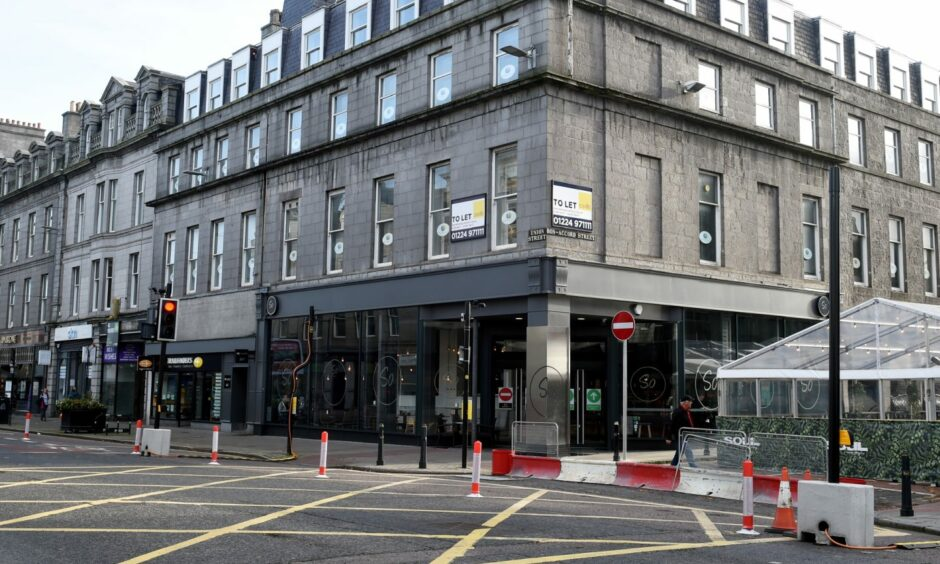 Bon Accord Street could remain closed until the end of March to allow outdoor trading for nearby hospitality premises.