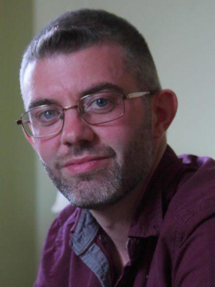 Former teacher James McEnaney is now a lecturer in Glasgow.
