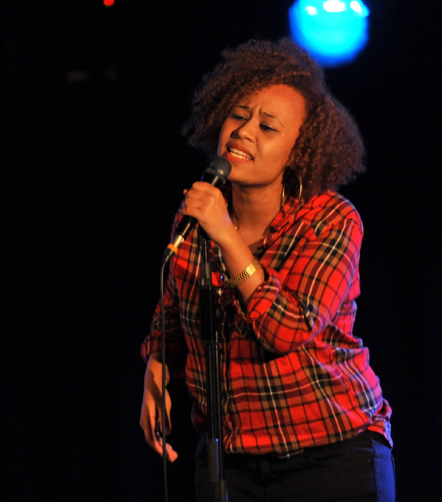 Emeli Sande impressed the audience at The Lemon Tree in 2010.
