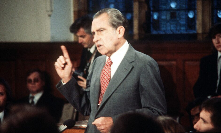 President Richard Nixon in 1974.