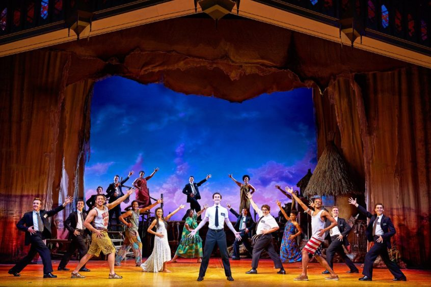 The Book of Mormon is one of the already announced shows.