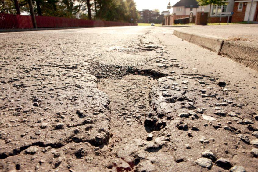 Dundee potholes